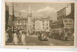 Postcard of Clock Tower and...