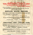 1899 Auction Notice, White House, Rothley
