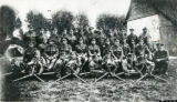 16 company, No.2 section of the Machine Gun Corps, Leicestershire Regiment in France